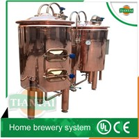 100L home made beer brewing plant