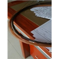 Coffee Colour Plastic-coating Iron Wire