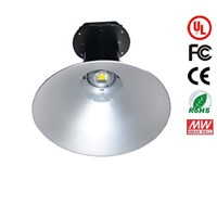 UL CE RoHS approval 100W LED Highbay light Bridgelux chip Meanwell driver 10000lm 100-277V