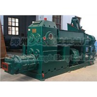 type green Clay bricksMaking Machine( Vacuum Extruder)