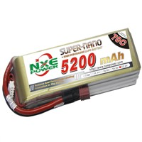 5200mAh 22.2V 6S 70C Lipo battery for RC Helicopter