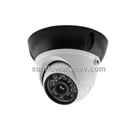 Indoor/Outdoor HD IP Dome CCTV Camera