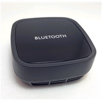 Stereo Transmitter and Audio Receiver 2-In-1 Bluetooth Adapter;