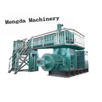 automatic coal gangue block making machine