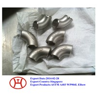 904L pipe fittings elbow reducer tee cap