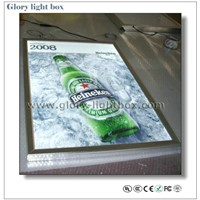 A1 Size Edge-Lit Clip Frame Slim Ultra Thin Light Box