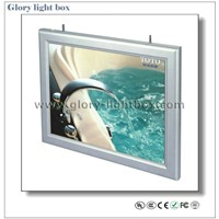 Double Side Ceiling Hanging Ultrathin Light Box