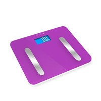 Tempered glass electronic body fat scale VFS209