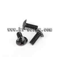 black oxide truss philip head laptop screw (with ISO card)