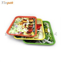 wholesale metal tin serving trays
