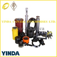 API National Mud Pump/ Drilling Mud Pump Fluid End Part Piston Liner with hydraulic cylinder