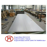 ASTM A240 UNS NO8926 sheet