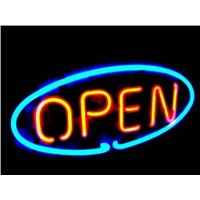 New MN3 OPEN neon sign neon light advertising equipment for store display.