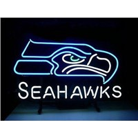 New MN8 SEAHAWKS neon sign neon light advertising equipment for store display.