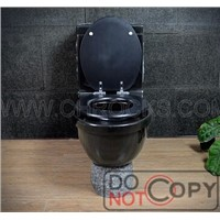 Shanxi Black Toilet,Absolute Black Granite Toilet