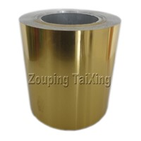 lacquered Aluminium Foil with  pp film for container