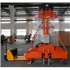 Telescopic cylinder lift platform with large bearing capacity high lifting height