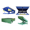 Hydraulic stationary dock leveller loading ramp for container