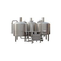 1000L/batch Micro Commercial Craft Beer Brewing Equipment