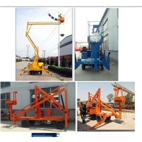 2015 New model articulated boom lift platform with discount price