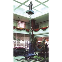 Best price of telescopic cylinder lift platform durable in use