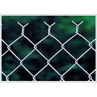 Chain link fence fabric ( Galvanized & Plastic ISO 9001)