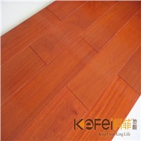Balsamo wood solid flooring&Red color hardwood for interior decoration