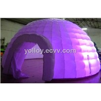 Inflatable Lighting Igloo Dome Tent for Party Event