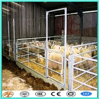 Galvanized Portable Tubular Steel Livestock Fencing