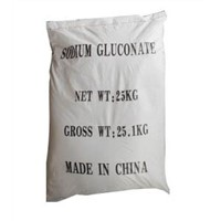 China supply sodium gluconate tech grade and food grade