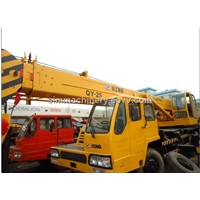 xcmg qy25e 25ton truck crane in shanghai best condition crane 25t xcmg