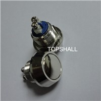 Round head metal push button switch,short pin  push button switch