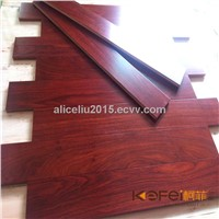 Flat Natural Ambila solid wooden Flooring for interior decoration