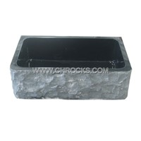 Shanxi Black Farm Sink,Absolute Black Kitchen Sink,Stone Farm Basin