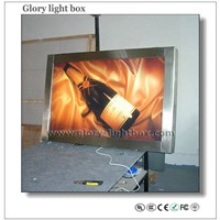 Indoor stainless roll up Light Box