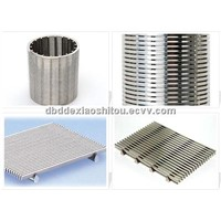 SS wedge wire screen/ Stainless wedge wire screen
