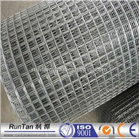 Hot Dip Galvanized Steel Fence 1 Inch Pvc Coated Welded Wire Mesh 4X4 Galvanized Steel Wire Mesh