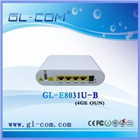 Fiber solution, 4PON ports FTTH OLT Box, GEPON equipment