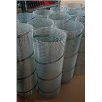 Filter frames stainless steel spiral welded perforated metal pipes filter elements in Zhi Yi Da