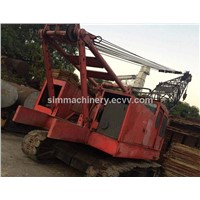 Used condition FUWA 50t crawler crane at price $50000 second hand FUWA QUY50 crawler crane for sale