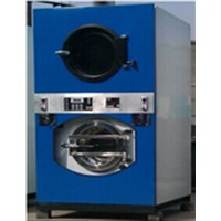 commercial coin washing machine and dryer for self-service laundry