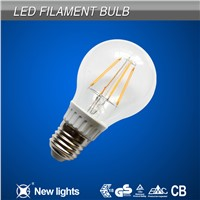 2014 top sale 4W LED Filament Bulb 120LM/W with 360 degree