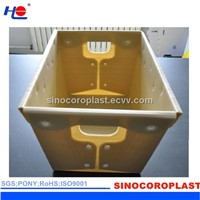 Industrial And Logistics PP Corrugated Turnover Box