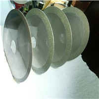 Popular superthin diamond cutting blade cutting wheel electroplated  for glass, ceramic