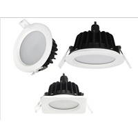 Round 12W LED downlight IP65 ceiling light