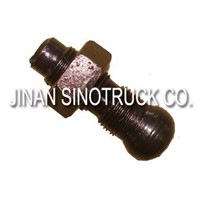 Sinotruk Howo Engine Truck Parts Valve Setting Screw