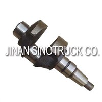 Sinotruk Howo Engine Parts Crankshaft For Air Compressor