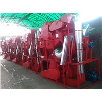 High capacity peanut shelling machine