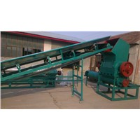 PET bottle plastic crushing machine