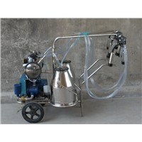 Portable Double tank cow milking machine